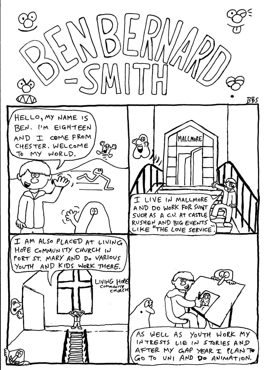 SUMT bio comic