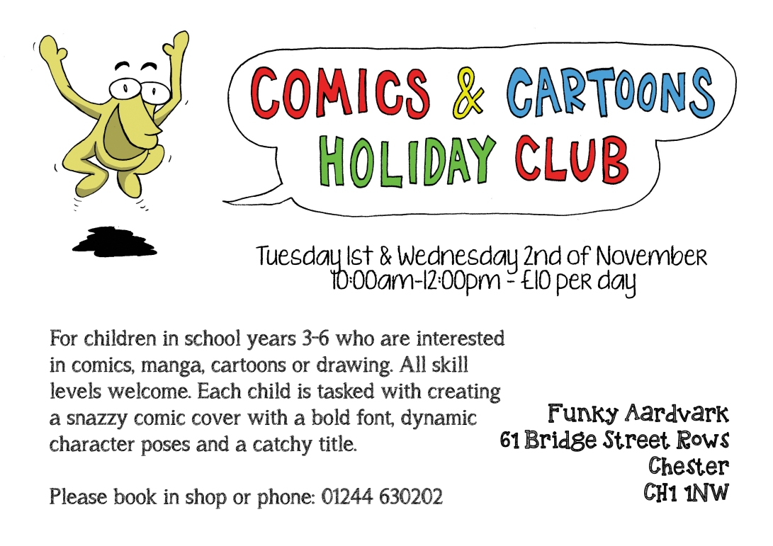 comics-and-cartoons-holiday-club-poster