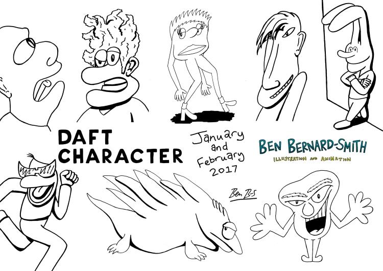 Daft Character Jan and Feb 2017