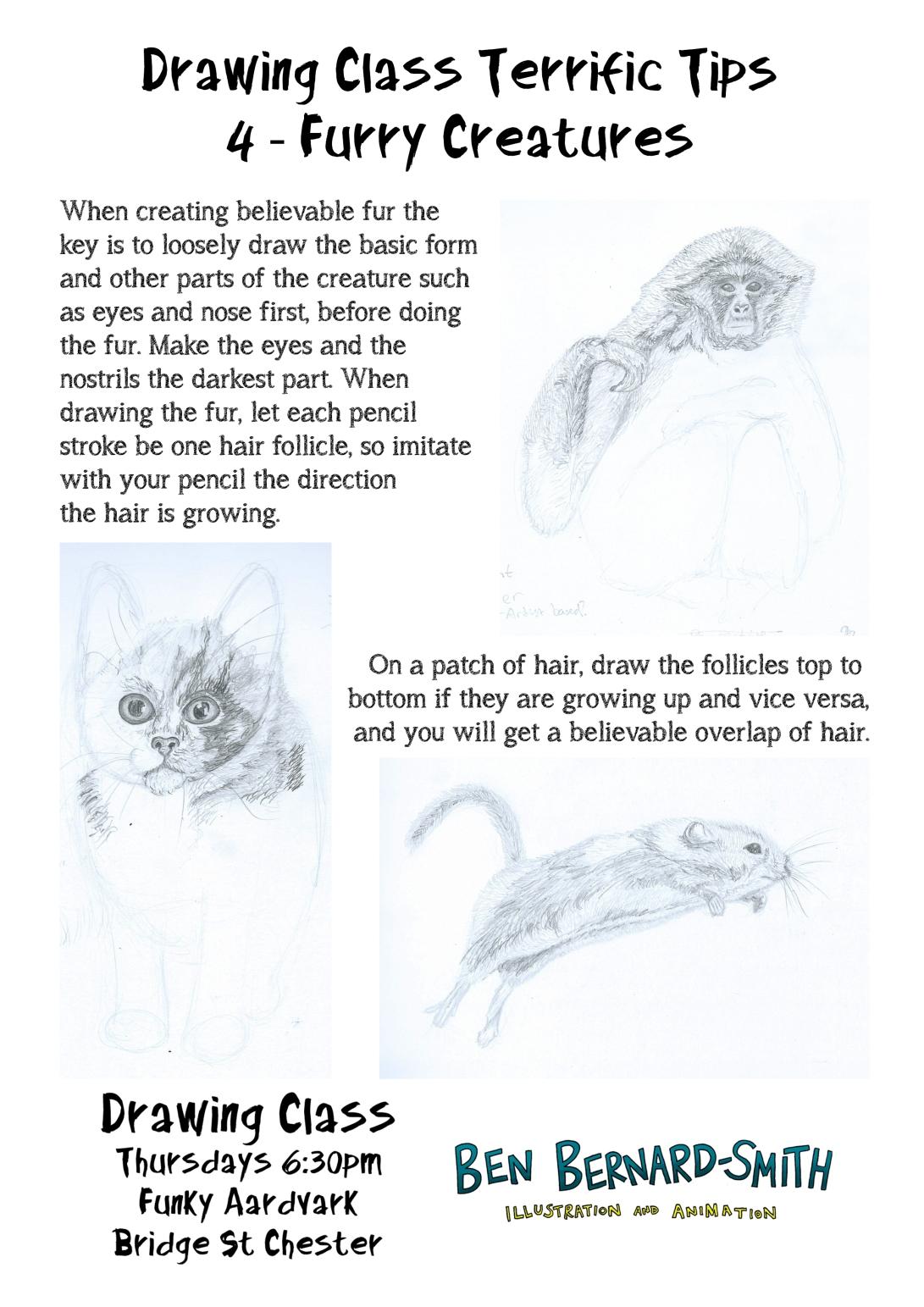 Drawing Class Terrific Tips 4