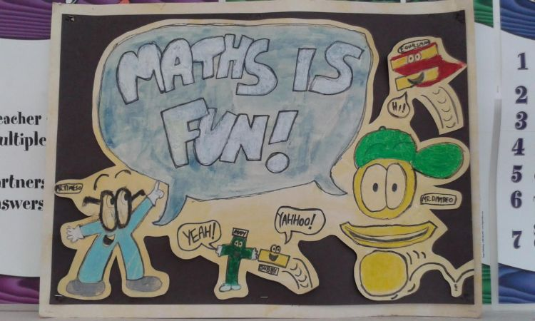 Maths is Fun poster