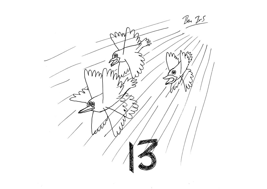 STS Inktober 13