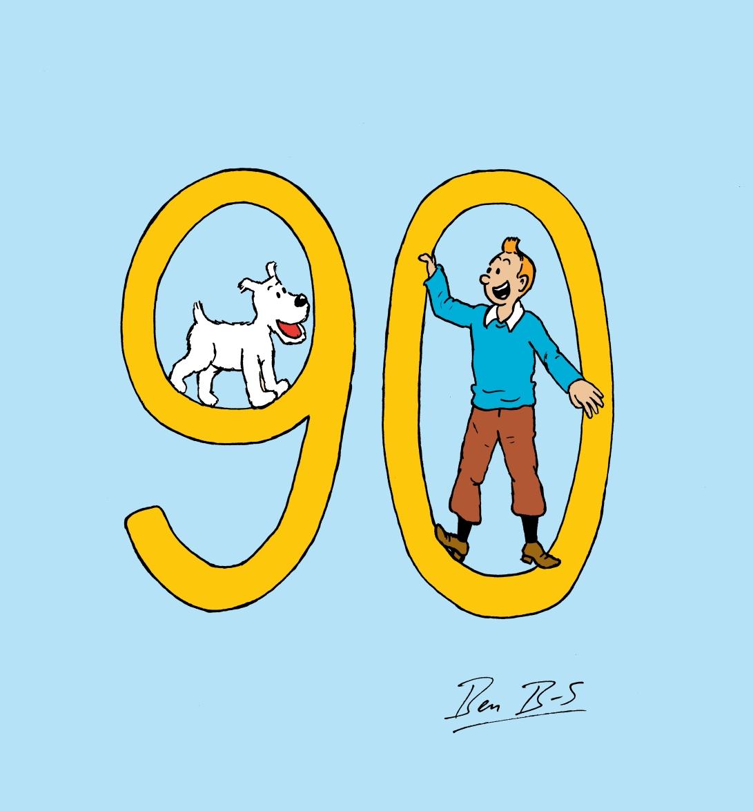tintin 90